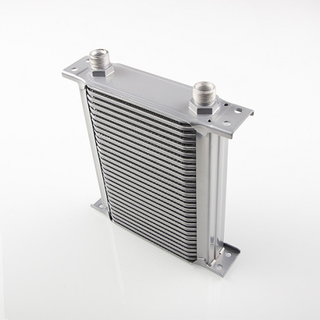 "Arlows 28 Lines Oil Cooler 1/2"" BSP ( Height: 220mm / Width: 210mm ) 