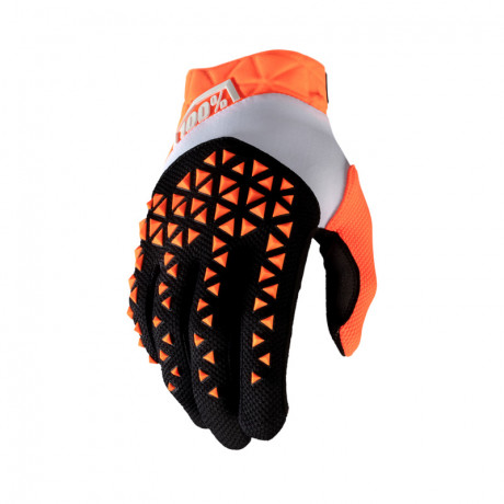 100% Prozent Motocross Handschuhe Airmatic orange S | Paintball Sports