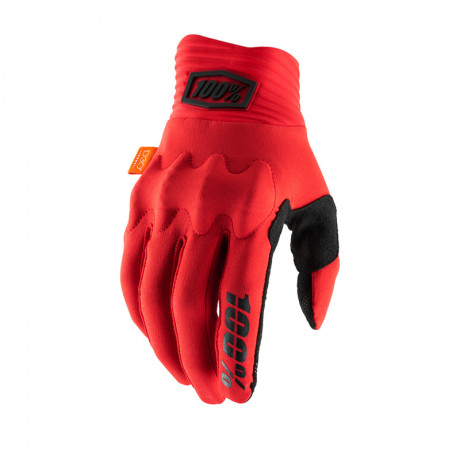 100% Prozent Motocross Handschuhe Cognito rot L | Paintball Sports