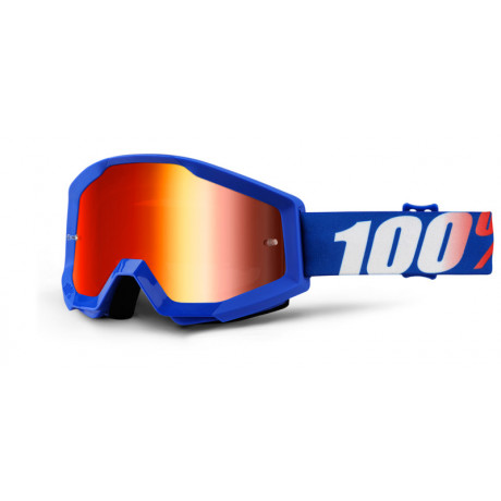 100% Prozent Motocross Brille Strata Extra Nation | Paintball Sports