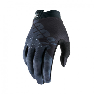 100% Prozent Handschuhe Itrack Junior schwarz-grau L | Paintball Sports