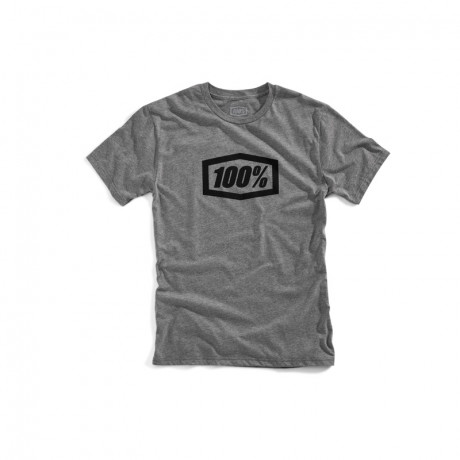 100% Prozent TShirt Essential Gunmetal grau 2XL | Paintball Sports