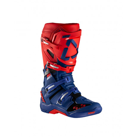 Leatt Stiefel GPX 5.5 FlexLock blau-rot, 45.5 | Paintball Sports